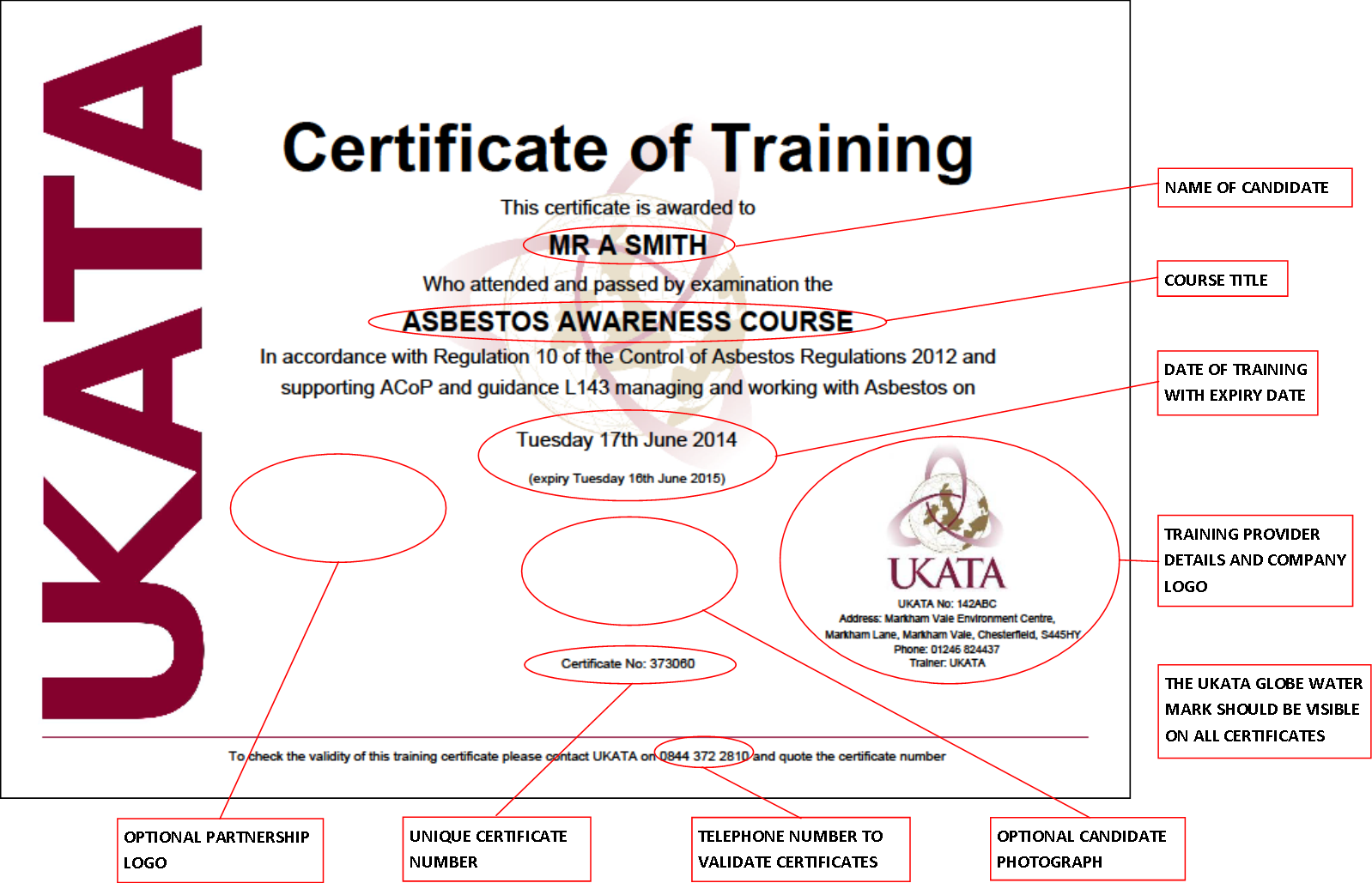 Does your certificae look like this